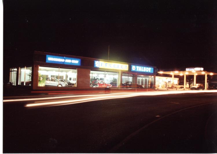 Illuminated signage installed and maintained