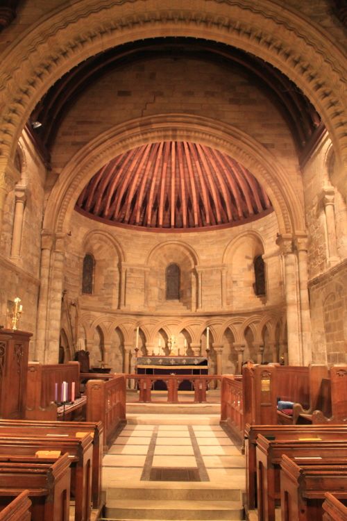 Internal Lit Chancel