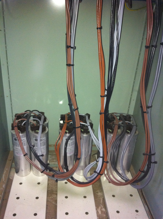 Power factor correction refurbishment by SEEC