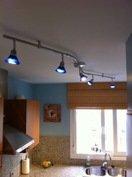 Why have 250watts of halogen when 25watts of LED will save so much electricity